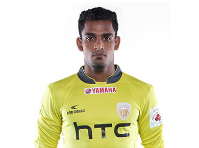India National Football Team T.P.Rehenesh footballer